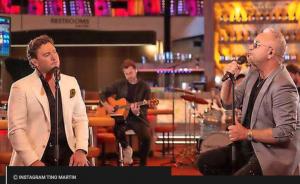 Tino martin neemt duet op met gordon